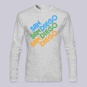 San Diego Cubed - Men's Long Sleeve T-Shirt by Next Level