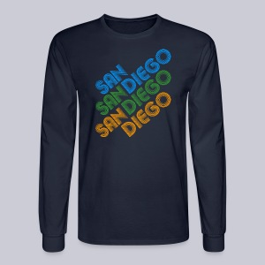 San Diego Cubed - Men's Long Sleeve T-Shirt