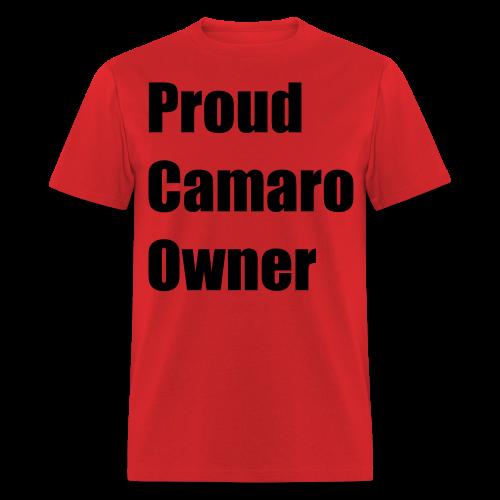 Proud Camaro Owner - Men's T-Shirt