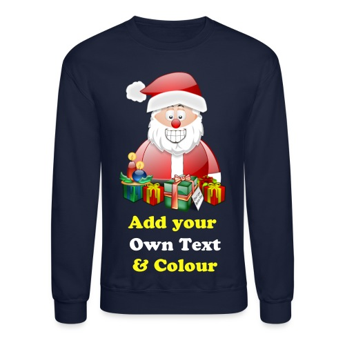 Father Christmas Merry Christmas With Presents - Crewneck Sweatshirt