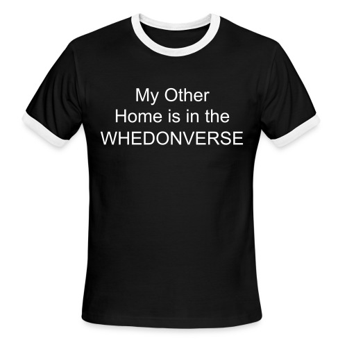 Living in the Whedonverse - Men's Ringer T-Shirt
