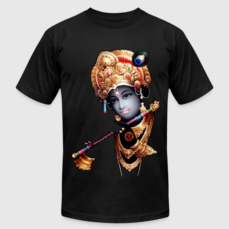 Misfit Krishna - Men's T-Shirt by American Apparel