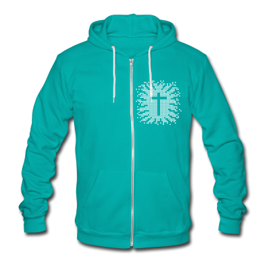 cross - church - religion - jesus - design Zip Hoodies/Jackets