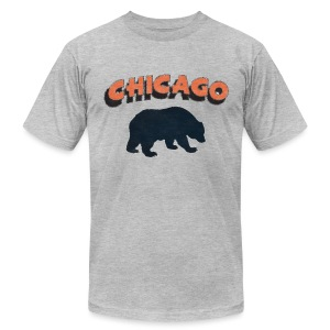 Chicago Mad Men - Men's T-Shirt by American Apparel