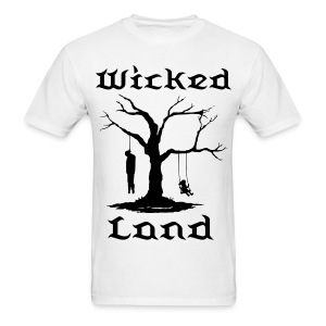 Men's T-Shirt - wicked land,wicked land gear,wicked land records