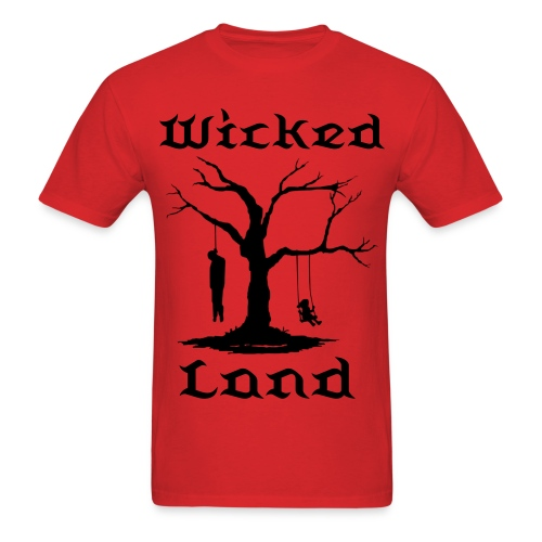 Men's T-Shirt - wicked land records,wicked land gear,wicked land