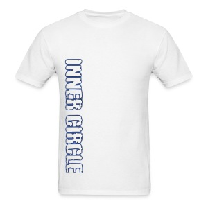 Mens Inner Circle BJJ - White - Men's T-Shirt