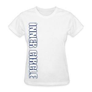 Womens Inner Circle BJJ - White - Women's T-Shirt