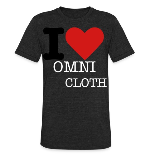 I Love Omni Cloth - Unisex Tri-Blend T-Shirt