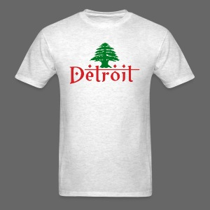 Detroit Lebanese Flag - Men's T-Shirt