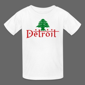 Detroit Lebanese Flag - Kids' T-Shirt