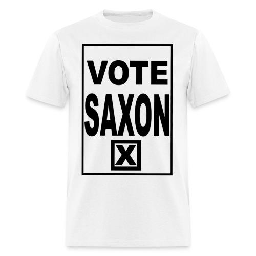 Vote Saxon Men's - Men's T-Shirt