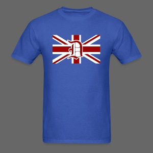 Detroit British Flag - Men's T-Shirt