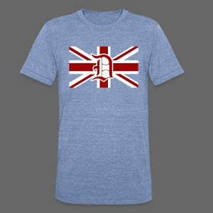 Detroit British Flag - Unisex Tri-Blend T-Shirt by American Apparel