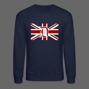 Detroit British Flag - Crewneck Sweatshirt
