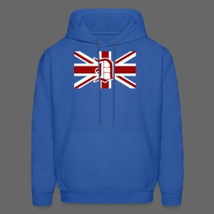 Detroit British Flag - Men's Hoodie