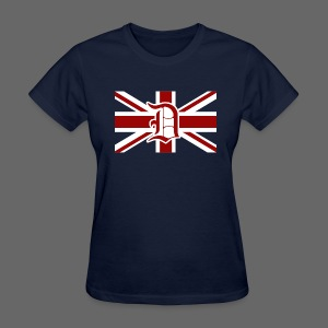 Detroit British Flag - Women's T-Shirt