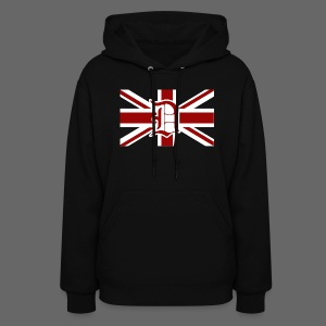 Detroit British Flag - Women's Hoodie