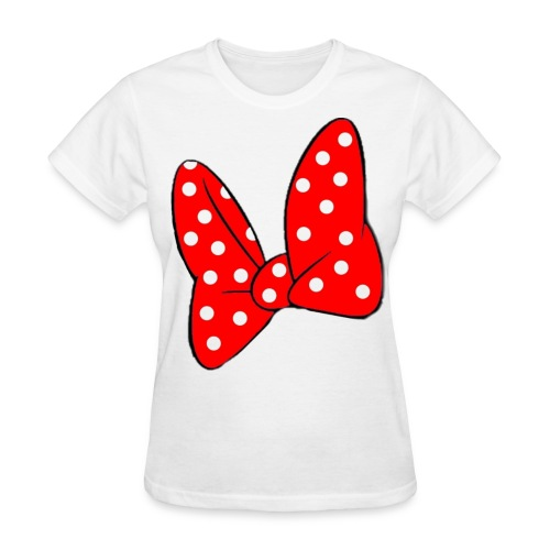 Minnie mouse bowtie - Women's T-Shirt