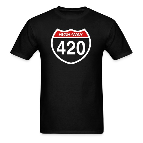 Highway Smoke - Men's T-Shirt