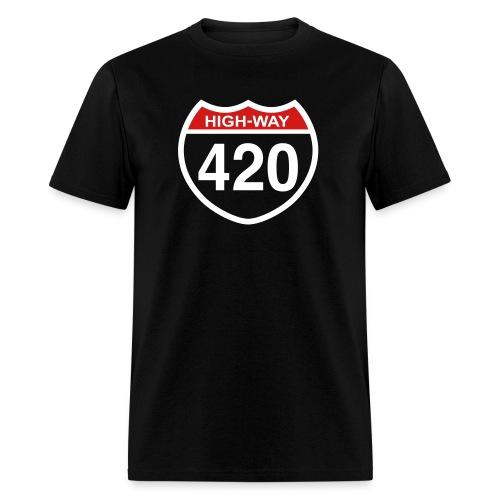 Highway Smoke - Men's T-Shirt