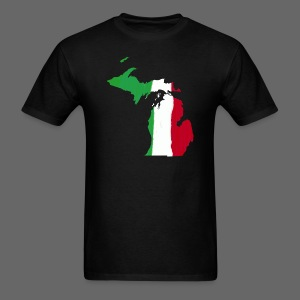 Michigan Italian Flag - Men's T-Shirt