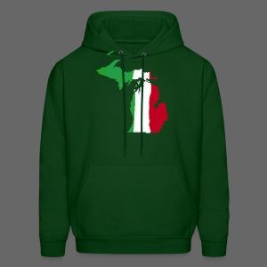 Michigan Italian Flag - Men's Hoodie