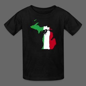 Michigan Italian Flag - Kids' T-Shirt