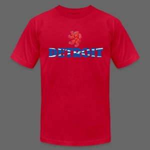 Detroit Scottish Flag - Men's T-Shirt by American Apparel