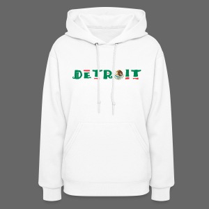 Detroit Mexican Flag - Women's Hoodie