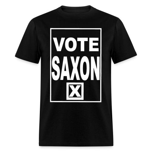 Vote Saxon (white text) Men's - Men's T-Shirt