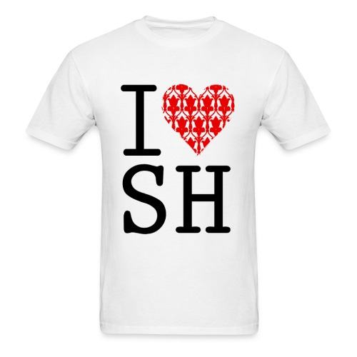 I LOVE SH (Male)  - Men's T-Shirt
