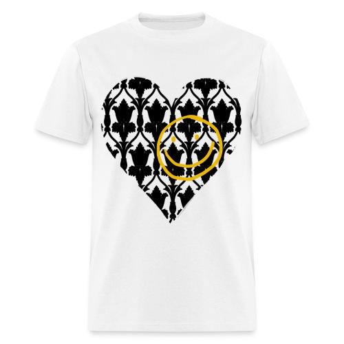 Heart Wallpaper Smiley (Men)  - Men's T-Shirt