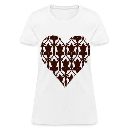 Heart Wallpaper (Women)  - Women's T-Shirt