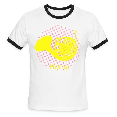 Horny T-Shirt ringer - Men's Ringer T-Shirt