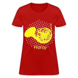 Horny T-shirt Women's standard - Women's T-Shirt