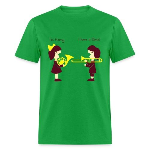 Band -Horn-Bone Men's standad T Shirt - Men's T-Shirt