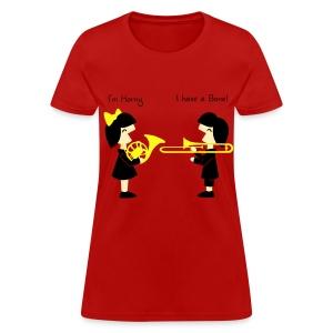 Band -Horn-Bone Woman's standard T Shirt - Women's T-Shirt