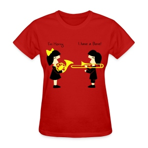 Band -Horn-Bone Woman's standard T Shirt - Women's T-Shirt