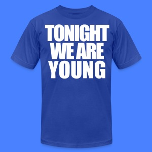 Tonight We Are Young T-Shirts - stayflyclothing.com - Men's T-Shirt by American Apparel
