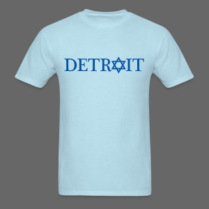 Detroit Israeli Flag - Men's T-Shirt