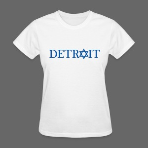 Detroit Israeli Flag - Women's T-Shirt