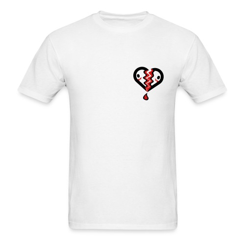 Broken Heart T-shirt   - Men's T-Shirt