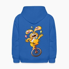 Easter Bunny Juggling Eggs Sweatshirts