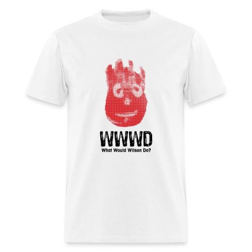 WWWD? T-Shirt - Men's T-Shirt