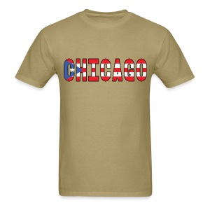 Chicago Rican - Men's T-Shirt