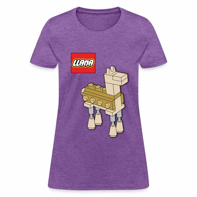 Llama Ladies' T-shirt