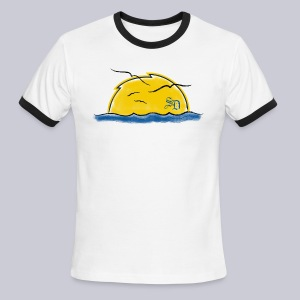 Supercharged Sunset - Men's Ringer T-Shirt