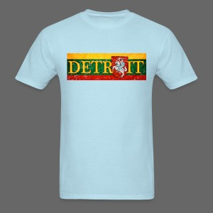 Detroit Lithuanian Flag - Men's T-Shirt