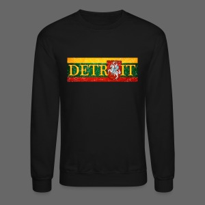 Detroit Lithuanian Flag - Crewneck Sweatshirt